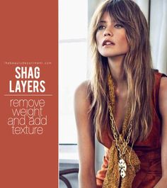 shag layers on thebeautydepartment.com