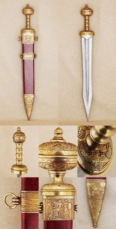 Roman Gladius short sword, 2nd century A.D. - WANT ONE!!!