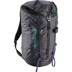 Head for the high ground with the Patagonia Ascensionist 30L Daypack. Designed for scrambling, hiking, or climbing on mixed terrain, and sewn from a lightweight but rugged Cordura fabric, it's an excellent all-around climbing accessory. This year's edition touts a few changes that mostly consist of a more minimalist design; although, the asymmetric profile is the biggest improvement to the pack.