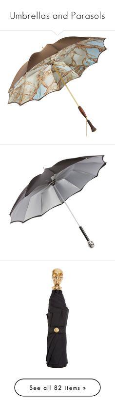 """""""Umbrellas and Parasols"""" by jennross76 ❤ liked on Polyvore featuring accessories, umbrellas, umbrella, persol, skull umbrella, folding umbrella, alexander mcqueen, alexander mcqueen umbrella, gold wristlet e animal print umbrella"""