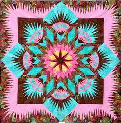 Prairie Star ~ Quiltworx.com, made by Suzanne Davenport
