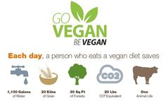 The most environmentally friendly way to eat is vegan.
