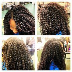 Freetress Bohemian curl crochet braids