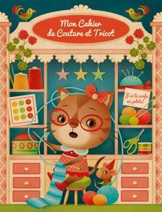 notebook cover: Gaia Bordicchia Illustrations: Knit & Purl