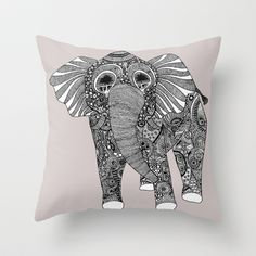 Ellie Throw Pillow by Lush Tart - $20.00
