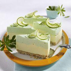 Limetten-Philadelpia-Torte Rezept | LECKER