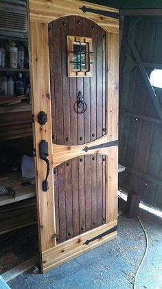 Rustic Doors, Wood Doors, Barn Doors, Rustic Interior Doors, Rustic Exterior, French Interior, Steampunk Bedroom, Steampunk Interior, Steampunk Furniture