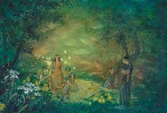 """Daniela Drescher illustration for """"A Midsummer Night's Dream""""."""