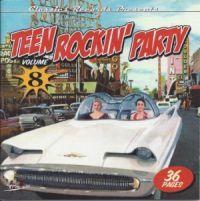 Goofin Records - VA: - Teen Rockin Party Vol. 8 Hyviä autoilu levyjä.