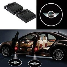 Car Door Projector Lights for-BMW Logo-Courtesy Lamps Ghost Shadow Lights Welcome Laser Projector Lights for BMW Accessories Kit 2 Pack