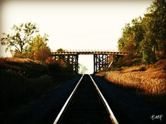 A wooden bridge by Heimdal, ND. Yes, it is still drivable yet.
