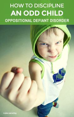 Evidence-based Oppositional Defiant Disorder Treatment For Parents via @rookieparenting