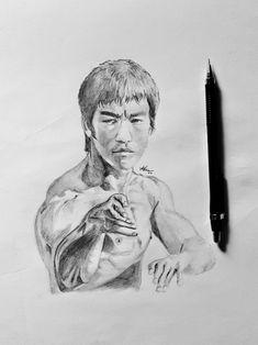 Bruce Lee quick sketch Quick Sketch, Bruce Lee, Art, Kunst, Art Education, Artworks