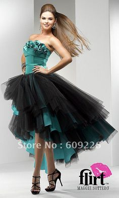 images of unusual fashion | ... Unique High Low Prom Dress,Women Fashion Dresses with Roses Detail