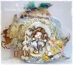 Magnolia cards by Debbie: Sagittarius Tilda- Zodiac Collection