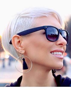 58 Trendy Undercut Short Blonde Pixie Haircuts for 2018