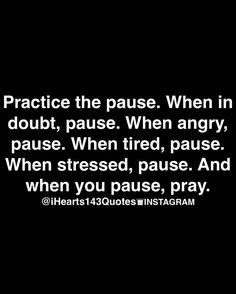 Pause & Pray.