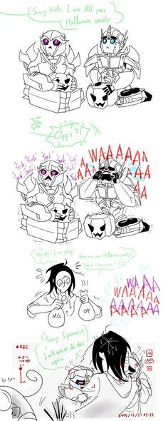 hey kids i ate your Halloween candy. by Autumn123Charlotte.deviantart.com on @DeviantArt