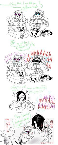 hey kids i ate your Halloween candy. by Autumn123Charlotte.deviantart.com on @DeviantArt