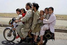 People on their way to the Khwaja Sahib Ansar where they go for picnics. Hirat, Afghanistan, 2006 - by Fardin Waezi (1981), Afghanistan