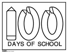 Day of School Coloring Page by Innovative Teacher – Emily Chaffin - Free Fun Classroom Activities, Teaching Activities, Teaching Ideas, Elementary Teacher, Teacher Pay Teachers, School Teacher, Teacher Stuff, Elementary Schools, School Coloring Pages