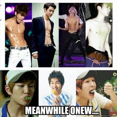 Onew's Abs?...
