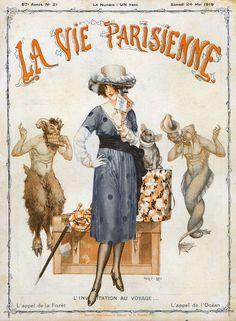 Chéri Hérouard (1881 – 1961). La Vie Parisienne, 24 Mai 1919. [Pinned 31-vii-2015]