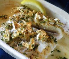 Baked Haddock. Photo by Bergy