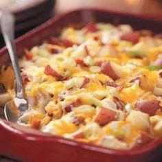 Cazuelita de patatas y verduras. 16 recetas en microondas.