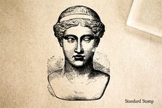 Athena Rubber Stamp