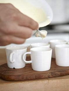 Serve up a perfect portion of summer desserts in miniature cups | #IKEAIDEAS