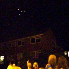 AREA 52 UFO: Mysterious lights spark fears of 'UFO invasion' in...