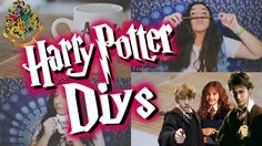 DIY #6 || Harry Potter Inspired Diys ❤