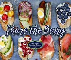 Spruce up your backyard BBQ appetizers with fresh blueberries and other blueberry products from our Berry Boutique! https://critchleyfamilyfarms.com/berry-boutique/