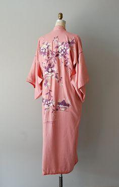 1920s Katsura silk embroidered kimono robe ||     http://www.etsy.com/listing/99456752/1920s-silk-kimono-robe-20s-lingerie
