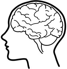 Drawn Brain Drawing - Easy Drawings Of Brain Free PNG Images . Drawing Tips brain drawing Brain Vector, Anatomy Coloring Book, Coloring Books, Coloring Pages, Drawing For Kids, Art For Kids, Drawing Tips, Brain Icon, Science Classroom