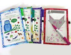 Animal Fun DryErase Smart Sleeve Set  Kids' by JemmaJewel on Etsy, $15.00