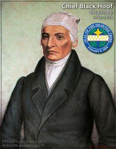 Chief Black Hoof ... Shawnee  1740 ... 1831