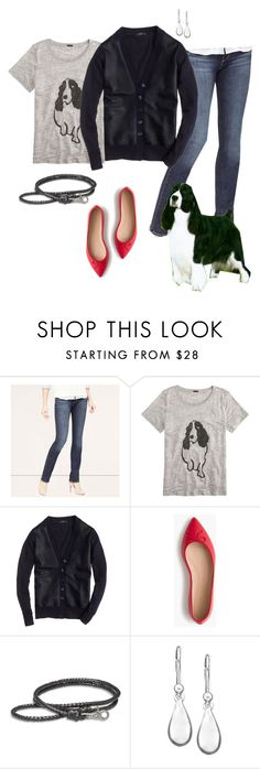 """""""wearing 2.17.16"""" by busyvp ❤ liked on Polyvore featuring LOFT, J.Crew, Lucky Brand, Lauren Ralph Lauren, women's clothing, women, female, woman, misses and juniors"""