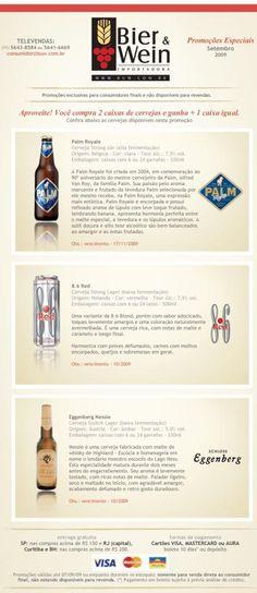 Parao leitor ávido por promoções relacionadas à cerveja, BREJAS selecionou duas barbadas: Um mais um é igual a três A partir de hoje, e até