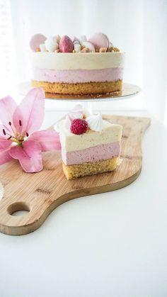 Christening Party, Baby Girl Christening, Cute Cakes, Yummy Cakes, Cake Decorating, Decorating Ideas, Vanilla Cake, Food Inspiration, Cheesecake