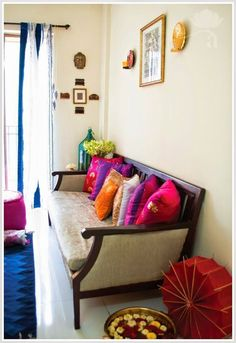 Vibrant Indian Homes More #IndianHomeDecor #IndianHomeDécor,