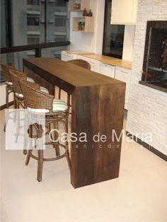 Casa de Maria Organic Design: Integrando espaços!