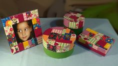 Caixa redonda PARTE2 - Patchwork / Round Box Part2 - Patchwork