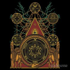 SOLOMONS MAGIC T-SHIRT T-Shirts & Hoodies by GUS3141592 | Redbubble
