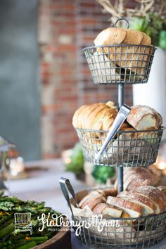 Nothing better than fresh @Macrina Bakery and Cafe breads! Ravishing Radish Catering. Katy Moran Photography.