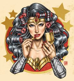 HeroChan — Battle Prep Art by Aizle Esdicul Wonder Woman Fan Art, Wonder Woman Comic, Superman Wonder Woman, Wonder Women, Wonder Woman Tattoos, Batman Comic Art, Batman Batman, Batman Arkham, Batman Robin