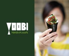 Yoobi branding by ico design: when the images leads the whole design process !