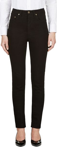Black High Waist Skinny Jeans | Clothes I would like to buy (if i ...