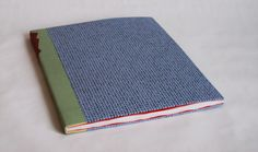 Invisible Traces // sewn-board binding with tracing paper pages; quarter leather with leather label - Herringbone Bindery